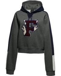 PUMA - Fenty Women's Hooded Panel Sweatshirt - Lyst