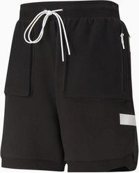 PUMA Standby Basketbalshort - Zwart