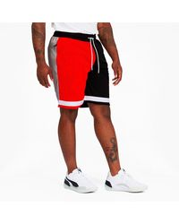PUMA Rs-b Mesh Shorts - Red