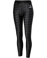 PUMA All-over Printed Leggings - Zwart