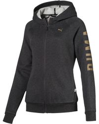 34b971def06fa5 Lyst - Tommy Hilfiger Lace Up Athletic Hoodie in Pink