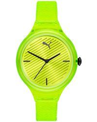 PUMA Remix Unisex Digital Watch - Blauw