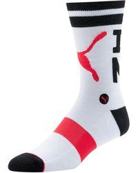 PUMA Unisex Crew Socks [1 Pair] - Multicolor
