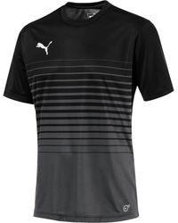 PUMA FtblPLAY Graphic T-Shirt - Schwarz