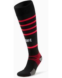 PUMA Stade Rennais/rennes Replica Hooped Football Socks - Rood