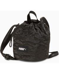 PUMA Classics Kleine Bucket Bag - Schwarz