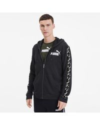 PUMA Amplified Training Full Zip Hoodie - Zwart