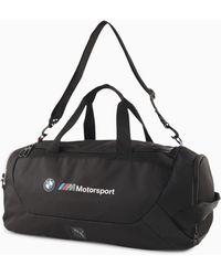 PUMA Bmw M Motorsport Duffel Bag - Black