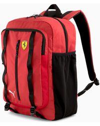 PUMA Scuderia Ferrari Sptwr Race-rugzak Tas Voor Heren - Rood
