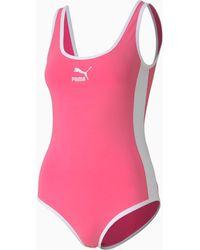 PUMA Classics T7 Women's Bodysuit - Rosa