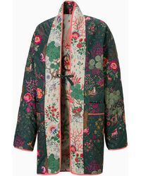 PUMA X Liberty Kimono Met Print - Groen
