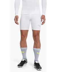 PUMA Liga Baselayer Short Tights - White