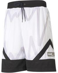 PUMA - Jaws Mesh Basketball Shorts - Lyst