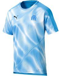 PUMA Olympique de Marseille Stadium Trikot - Blau