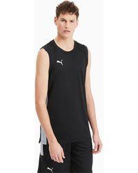 PUMA Basketbal Wedstrijdshirt - Zwart