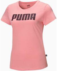 PUMA Essentials T-shirt - Roze