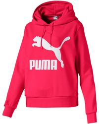 Red Classics Women's Cropped Hoodie