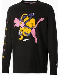 PUMA X Boku T-shirt Met Lange Mouwen - Zwart