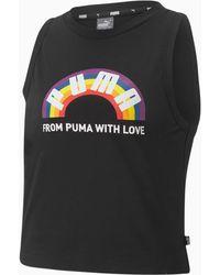 PUMA Pride Tanktop - Zwart
