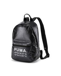 PUMA Time Archive Backpack - Zwart