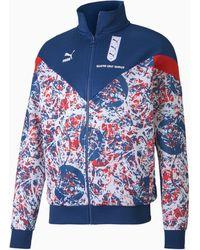 PUMA England Trainingsjacke - Blau