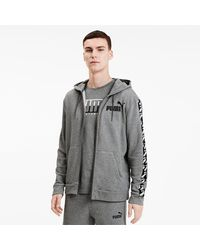 PUMA Amplified Training Full Zip Hoodie - Grijs