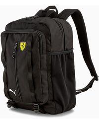 PUMA Scuderia Ferrari Sptwr Race-rugzak Tas Voor Heren - Zwart