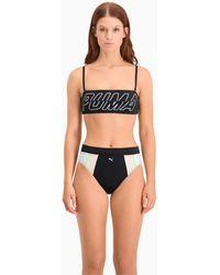 PUMA Bikini Bandeautop - Zwart