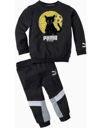 PUMA Pantalones Deportivos MCS Animals Para Bebés - Negro