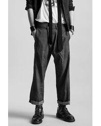 RATT Crossover Trouser- Grey Check