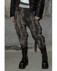 RATT Bleached Harem Cargo Pant - Multicolour