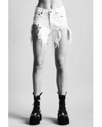Sashah shorts - White R13 V5bOgK1tCw