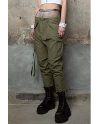 RATT Harem Cargo Pant - Green