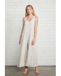 Rachel Pally Linen Remy Jumpsuit - White