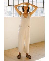 Rachel Pally Linen Remy Jumpsuit - Natural