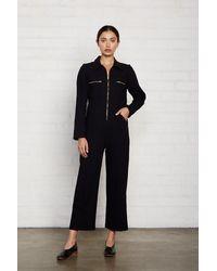 Rachel Pally Linen Canvas Shelby Jumpsuit - Black