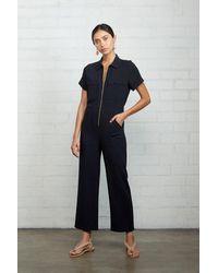 Rachel Pally Linen Rocco Jumpsuit - Black