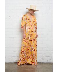 250faab734d7 Rachel Pally - Long Caftan Dress - Daffodil Print - Lyst