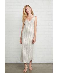 Rachel Pally Linen Bias Dress - Multicolour