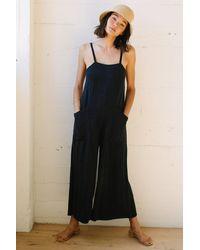 Rachel Pally Linen Hugo Jumpsuit - Black