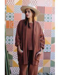 Rachel Pally Lattice Phoenix Jacket - Multicolour