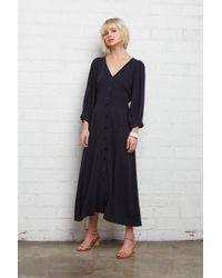 814a21a76b Rachel Pally - Linen Agnes Dress - Black - Lyst