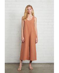 Rachel Pally Linen Canvas Remy Jumpsuit - Multicolour