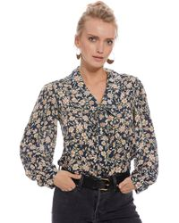 Rachel Pally - Pointelle Rayon Fable Top In Blue - Lyst