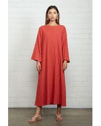 Rachel Pally Gauze Leda Dress - Red