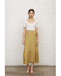 Rachel Pally Crepe Wrap Skirt - Floret - Multicolor