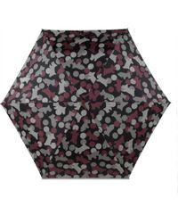 Radley - Spots & Stripes Mini Telescopic Umbrella - Lyst