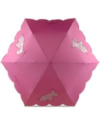 Radley Scalloped Edge Umbrella - Pink