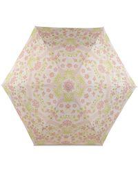 Radley Deco Floral Umbrella - Natural