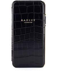Radley Signature Phone Folio - Black
